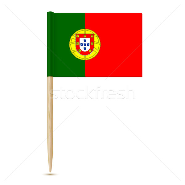 Flag of Portugal toothpick Stock photo © sonia_ai