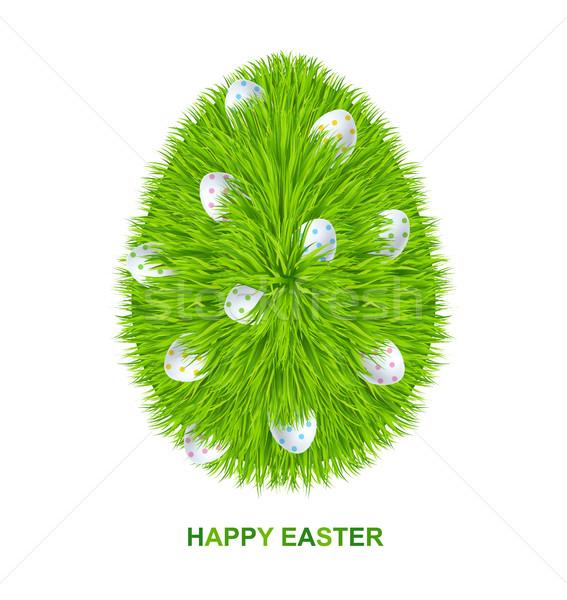 Сток-фото: Христос · воскрес · трава · яйцо · символ · прибыль · на · акцию · 10