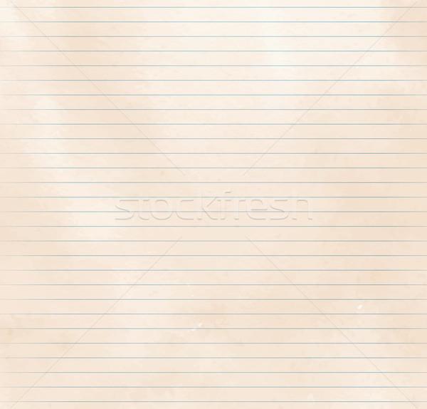 Textura del papel edad vintage vector eps 10 Foto stock © Sonya_illustrations