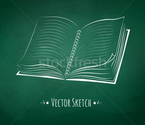 School notebook. Stock photo © Sonya_illustrations