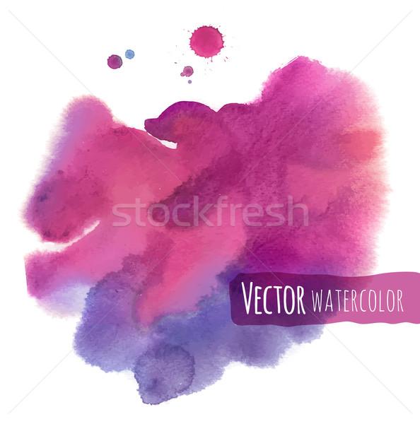Watercolor background. Stock photo © Sonya_illustrations