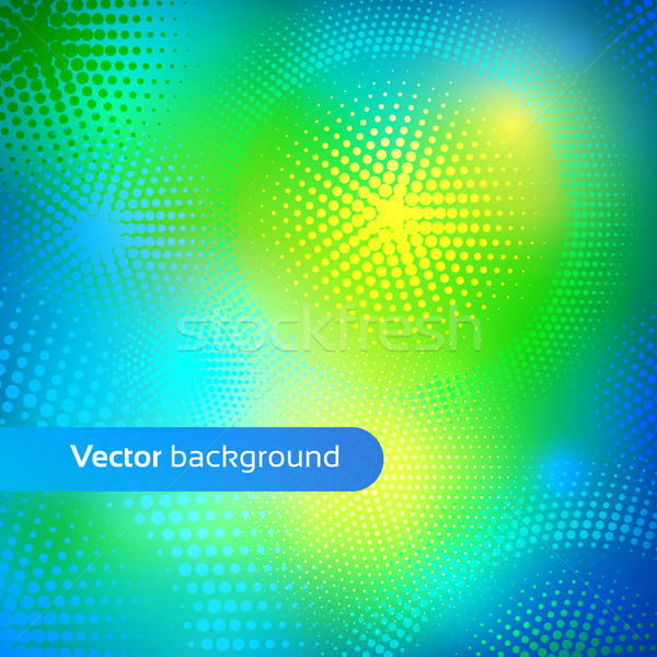 Colorful vector background. Stock photo © Sonya_illustrations