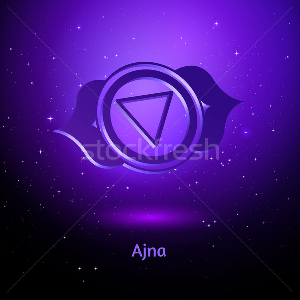 Ajna chakra.  Stock photo © Sonya_illustrations