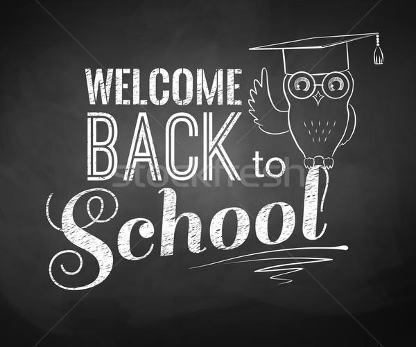 Stock photo: Back to School