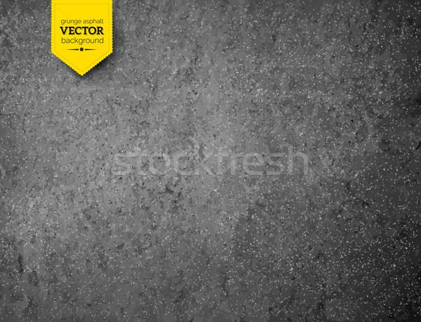 Asfalto texture vettore grunge strada sfondo Foto d'archivio © Sonya_illustrations