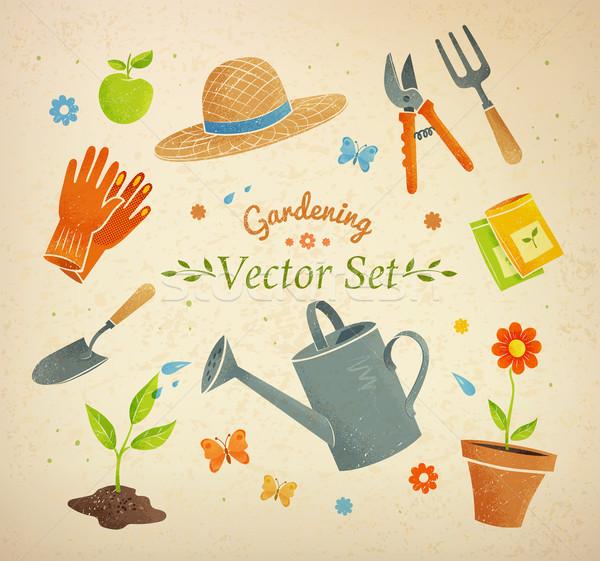 Gardening equipment. Stock photo © Sonya_illustrations
