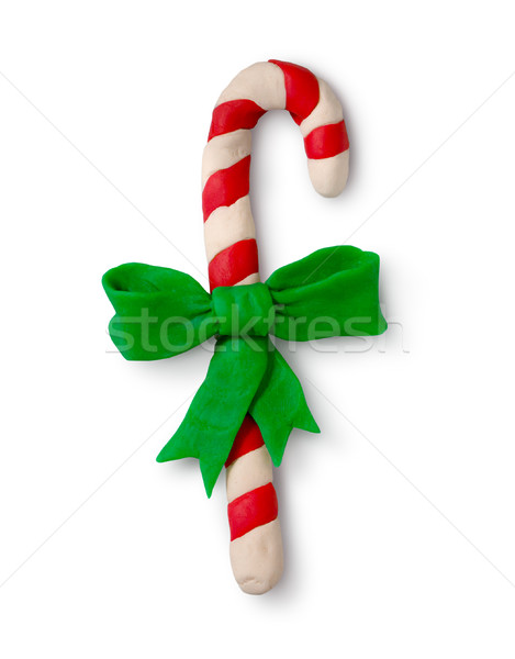 Plasticine figure of Christmas candy Stock photo © Sonya_illustrations