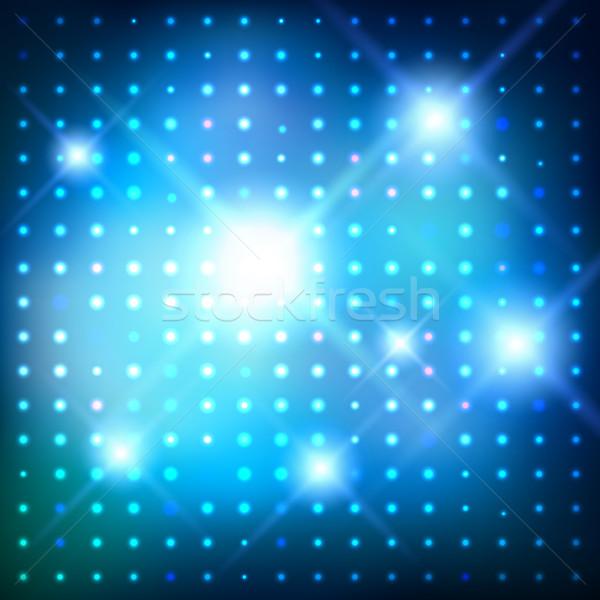 Disco lights. Vector background. Stock photo © Sonya_illustrations