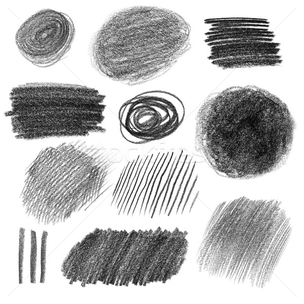 Graphite pencil textures Stock photo © Sonya_illustrations