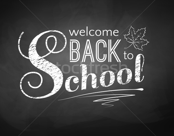 Back to School Stock photo © Sonya_illustrations