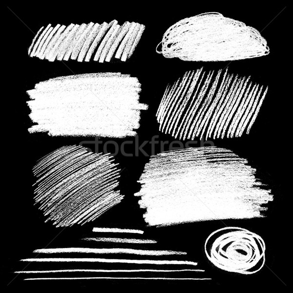 Chalked hatching textures Stock photo © Sonya_illustrations