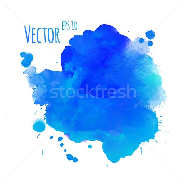 Watercolor colorful stain Stock photo © Sonya_illustrations