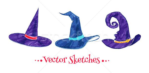 Witch hats.  Stock photo © Sonya_illustrations