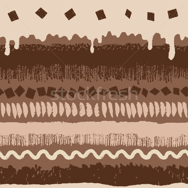 Chocolate cake seamless pattern Stock photo © Sonya_illustrations
