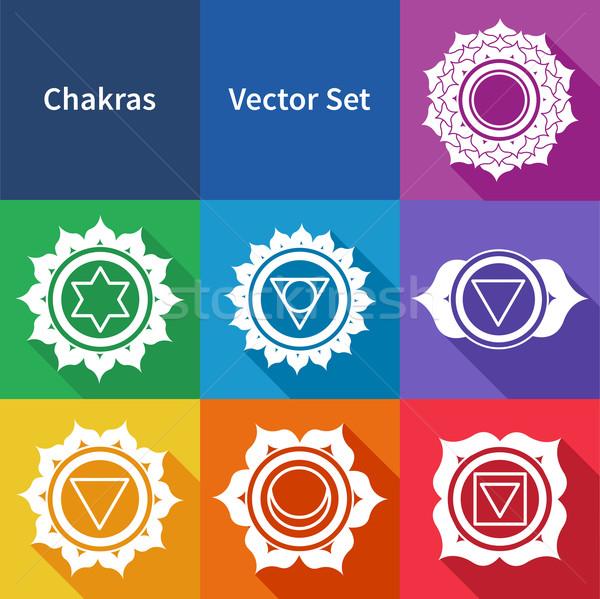 Chakras.  Stock photo © Sonya_illustrations