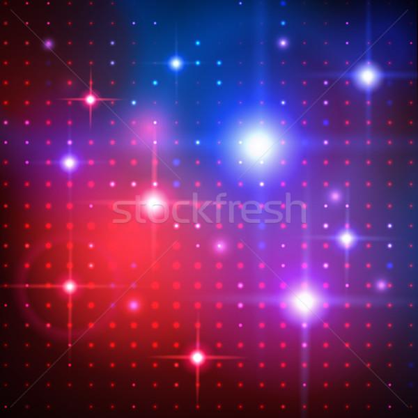 Zdjęcia stock: Disco · światła · wektora · streszczenie · świetle · projektu