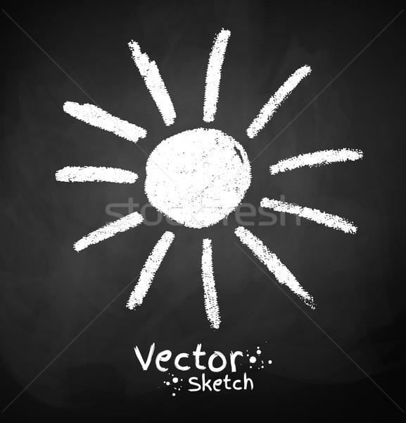 Sun. Stock photo © Sonya_illustrations