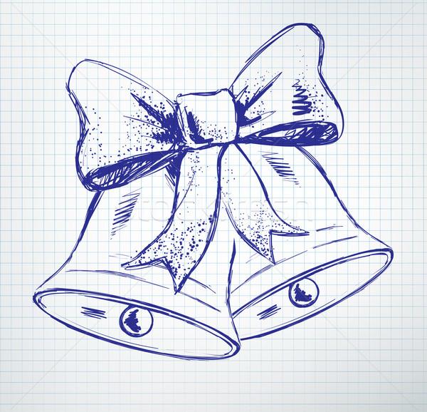 Christmas bells. Stock photo © Sonya_illustrations
