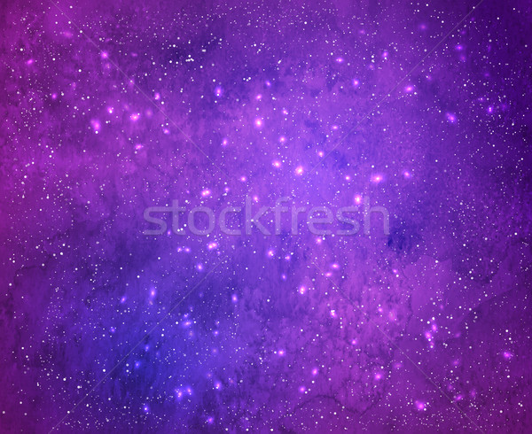 Violet background with light sparkles. Stock photo © Sonya_illustrations