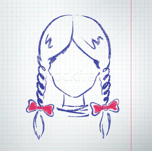 Female avatar Stock photo © Sonya_illustrations