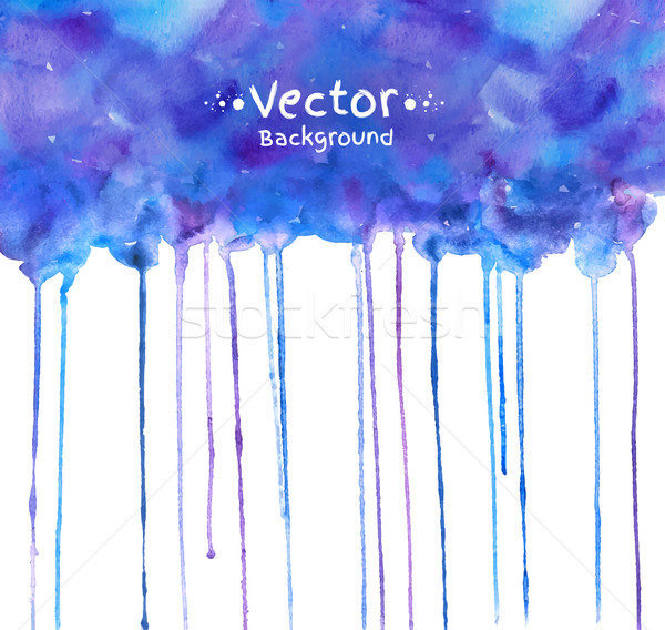 Watercolor texture with smudges.  Stock photo © Sonya_illustrations
