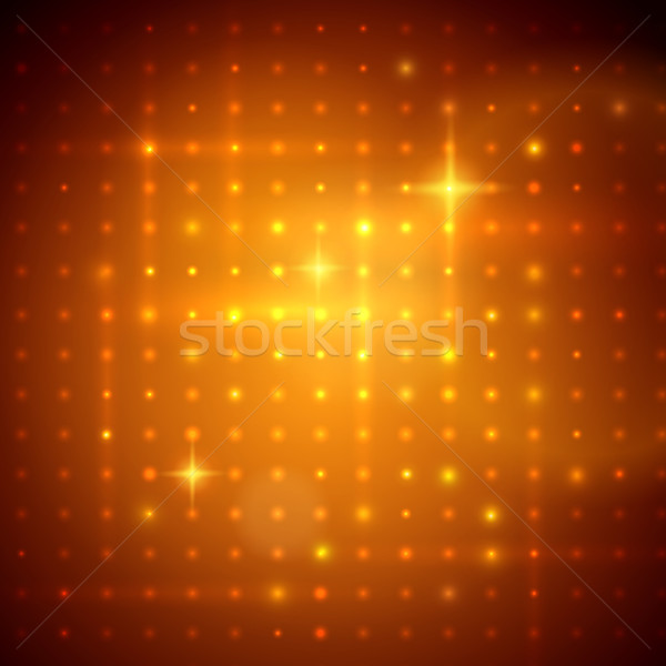 Golden disco lights. Stock photo © Sonya_illustrations