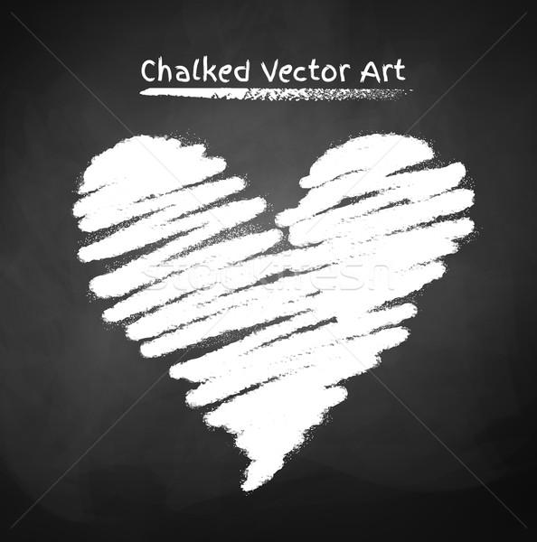 Hart textuur bruiloft achtergrond onderwijs teken Stockfoto © Sonya_illustrations