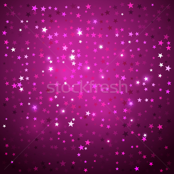 Disco background with stars. Stock photo © Sonya_illustrations