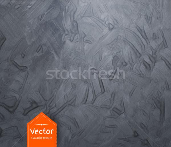 Gouache gray vector texture Stock photo © Sonya_illustrations