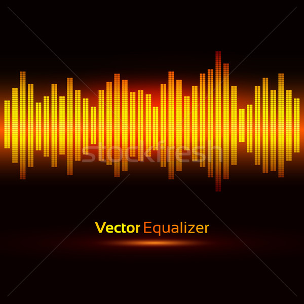 Stock photo: Equalizer.