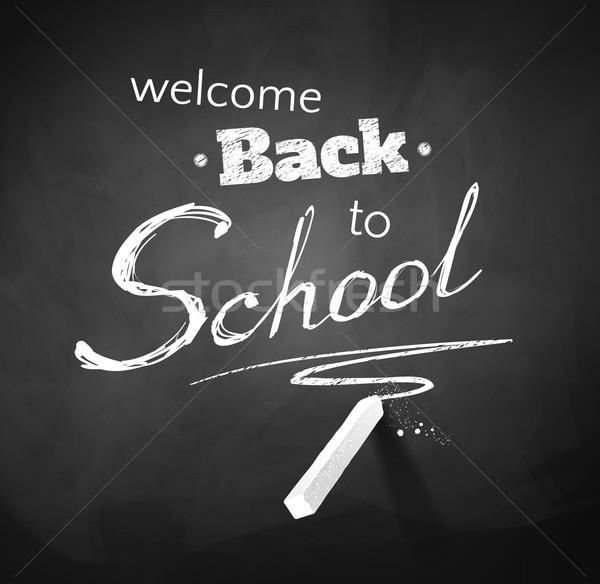Stock photo: Back to School.