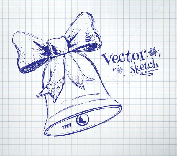 Christmas bell Stock photo © Sonya_illustrations