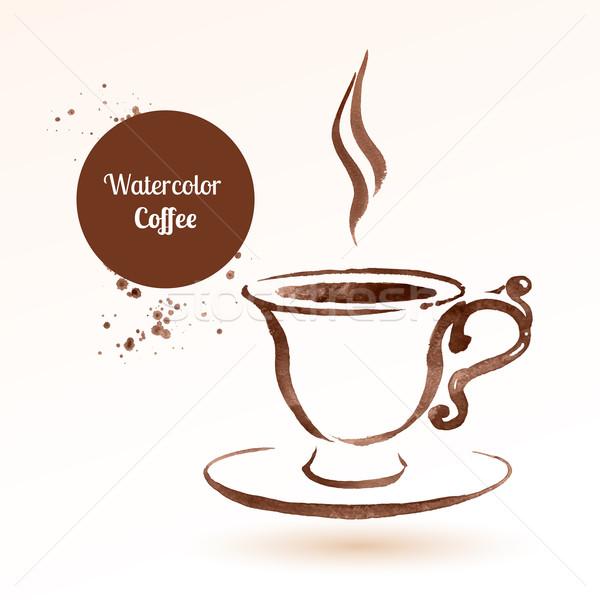 tasse · kaffeetasse · kaffee · hand · gezeichnet