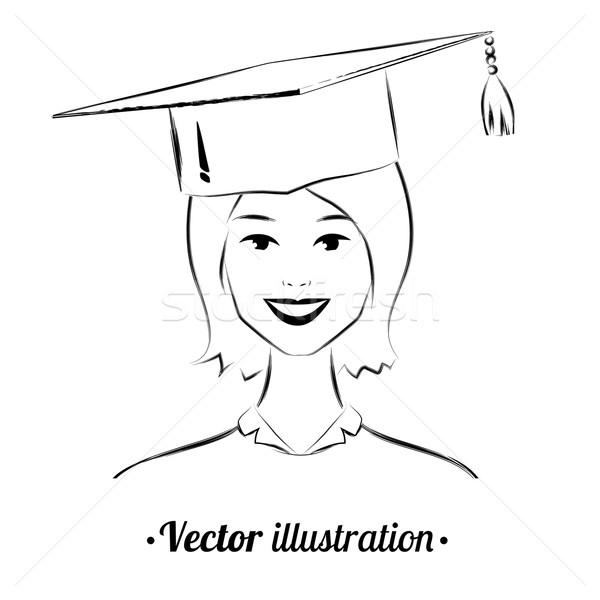 Smiling student. Stock photo © Sonya_illustrations