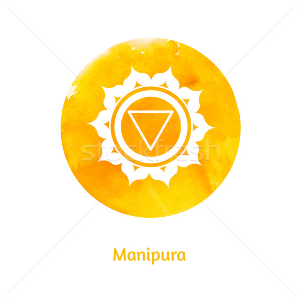 Manipura chakra.  Stock photo © Sonya_illustrations