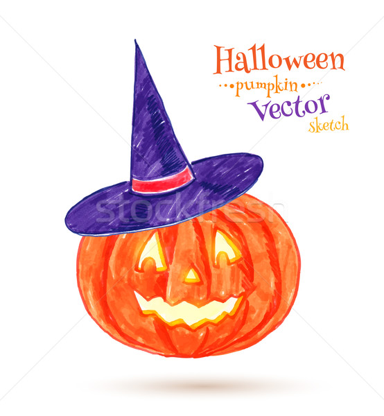 Halloween pumpkin.  Stock photo © Sonya_illustrations