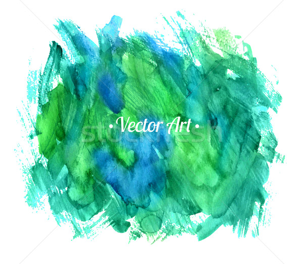 Abstract vector watercolor background.  Stock photo © Sonya_illustrations