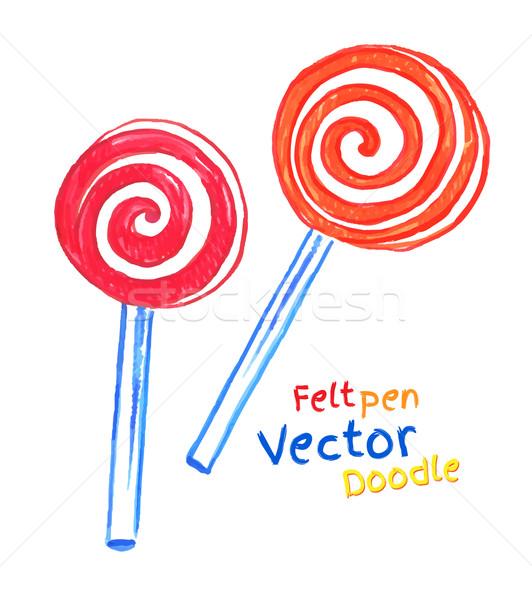 Lollipop. Stock photo © Sonya_illustrations