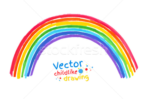 Rainbow. Stock photo © Sonya_illustrations