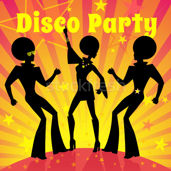 Disco party. Stock photo © Sonya_illustrations
