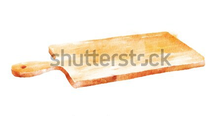 Kitchen cutting board. Stock photo © Sonya_illustrations