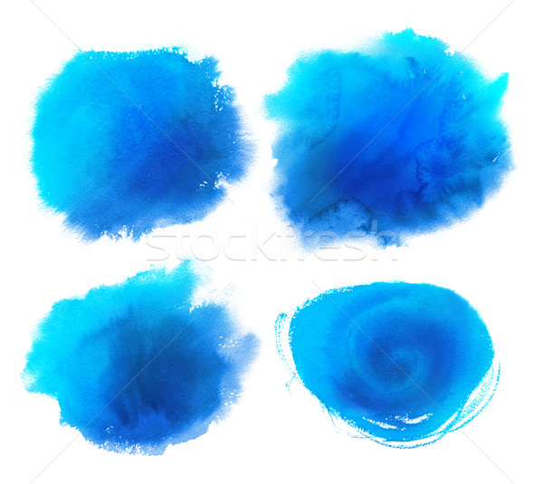 Watercolor stains collection Stock photo © Sonya_illustrations