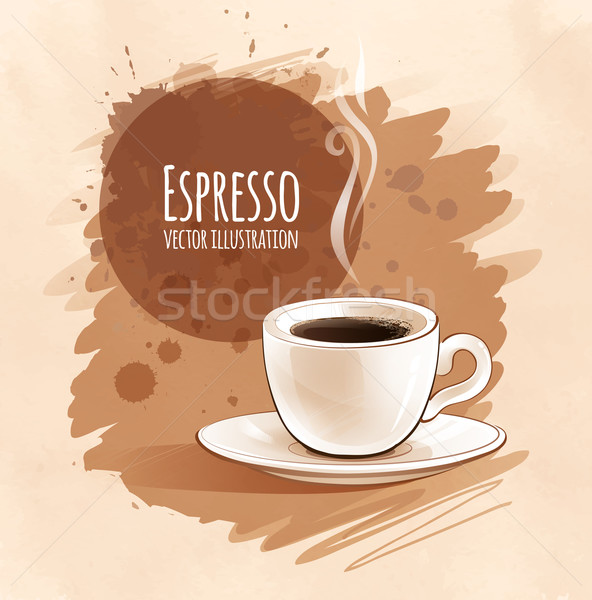 Espresso.  Stock photo © Sonya_illustrations