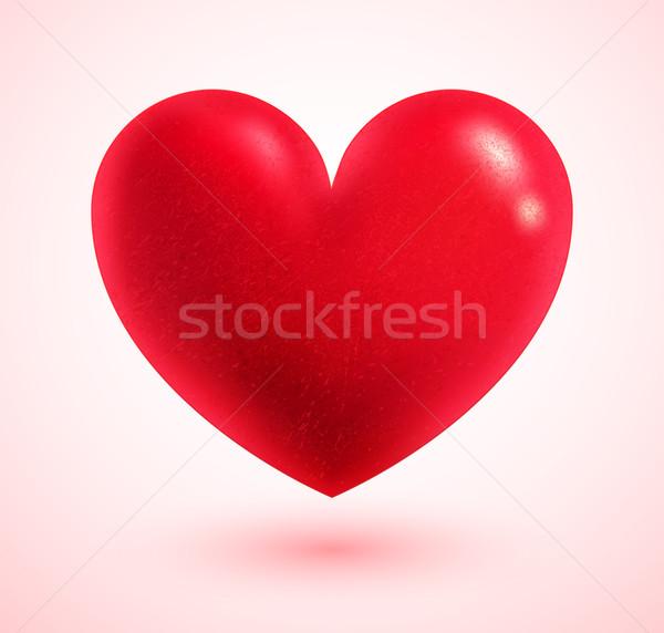 Valentine heart. Stock photo © Sonya_illustrations