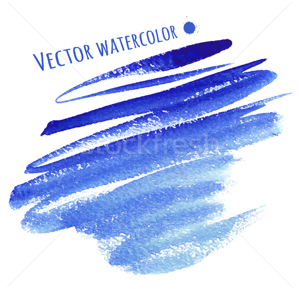 Watercolor strokes. Stock photo © Sonya_illustrations