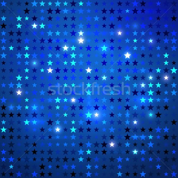 Disco background with stars. Stock photo © Sonya_illustrations