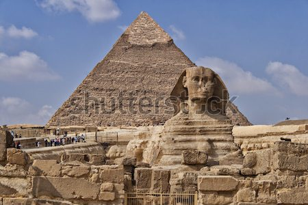 The Sphinx Egypt Stock photo © sophie_mcaulay