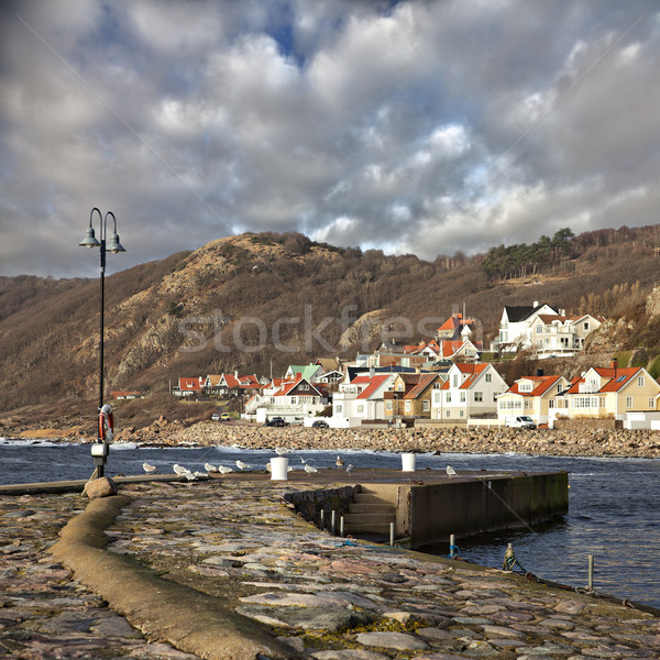 Fishing village of Molle in Sweden Stock photo © sophie_mcaulay