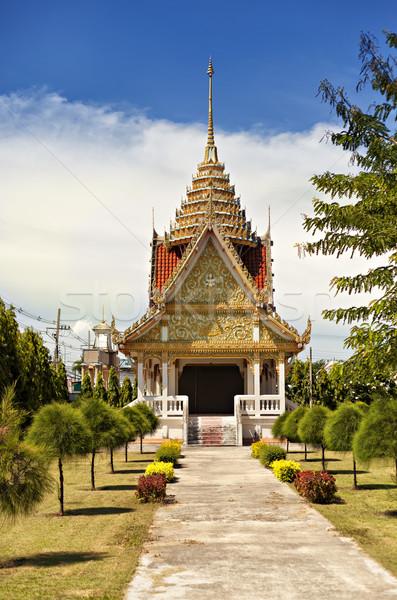 Thailand temple Stock photo © sophie_mcaulay