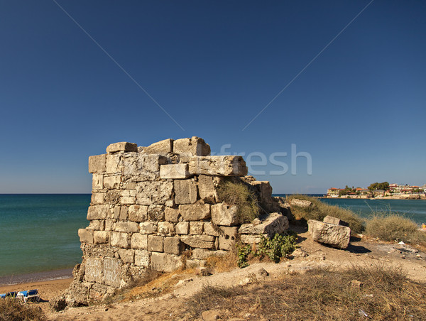 Ruins by the beach Stock photo © sophie_mcaulay